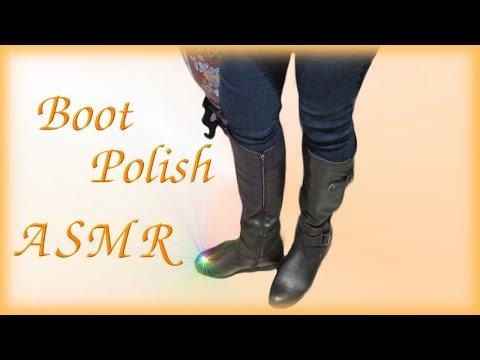 Women's Boot Polish ASMR