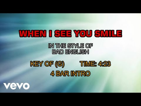 free download when i see you smile