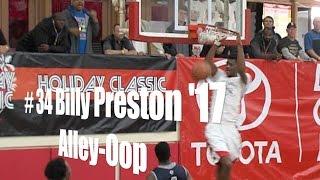 # 35 Billy Preston '17, Alley Oop vs.  Loyola, 12/26/14