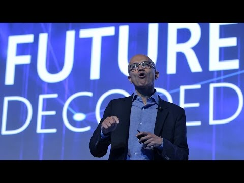 Microsoft Future Decoded: Satya Nadella launches Skype Lite