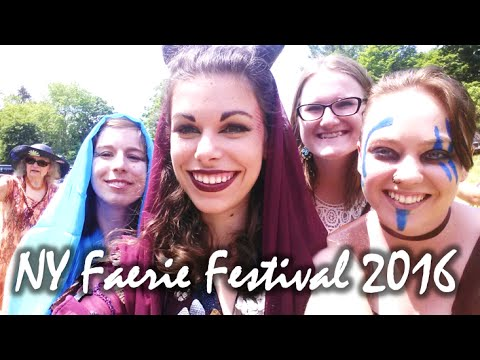 ✿ NY Faerie Festival 2016 VLOG ✿