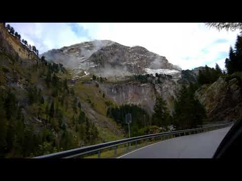 A Fall Drive Through the Swiss Alps