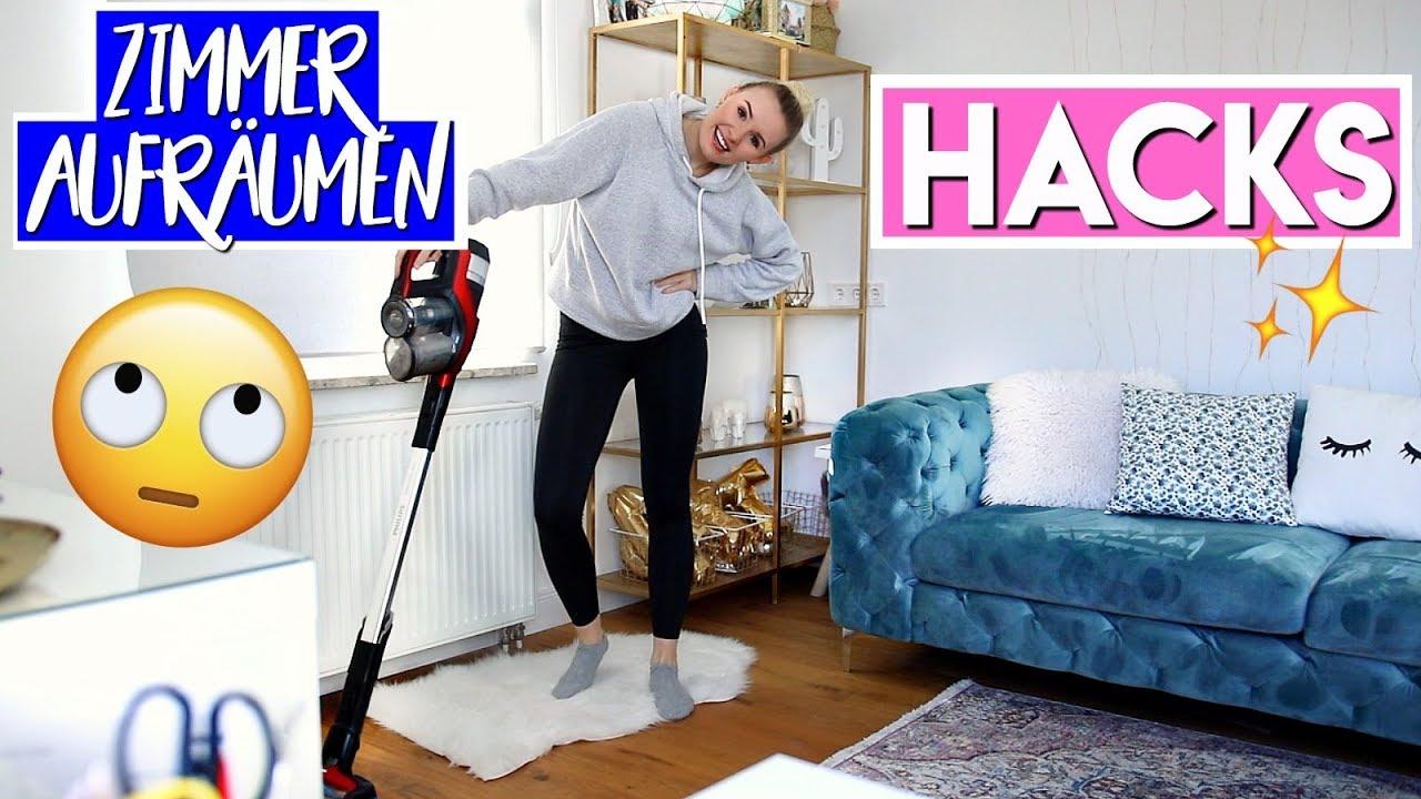 ENDLICH ORDENTLICH! Zimmer schnell & einfach aufräumen! Geniale Hacks! I  Giulia Groth