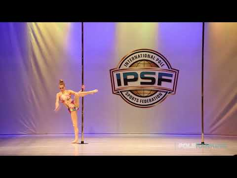 Masters 50+ Women Yvonne Haug of Germany - IPSF World Pole Sports Championships 2018