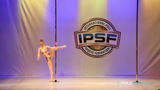 Yvonne Haug - IPSF World Pole Championships 2018