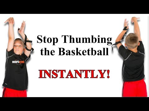 How to Make Your Off Hand in Basketball Better  -Off Hand Shooting Aid Instant Fix