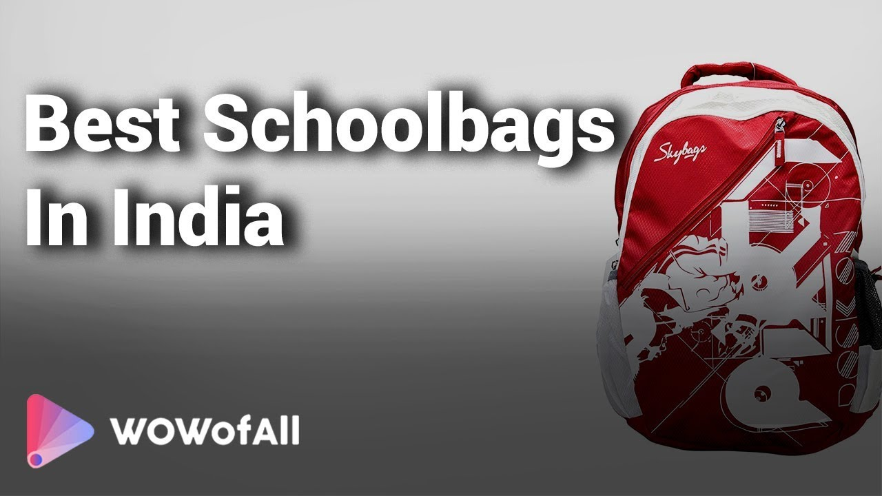 9ea36404e218 10 Best Schoolbags In India 2018 With Price - YouTube