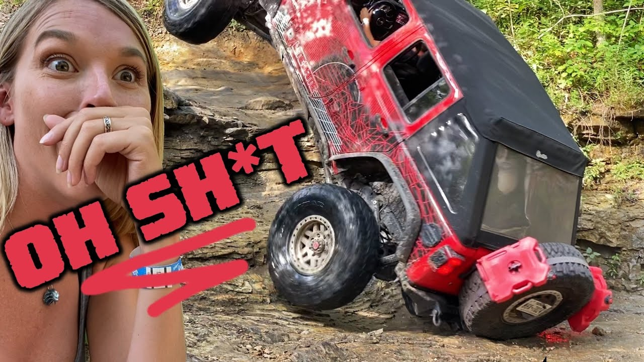We SMASH THE CRAP Out of Our Jeep!