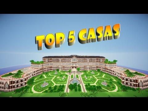 Minecraft ☆ TOP 5 CASAS ☆ 5º Edición | 2014 | + Descarga