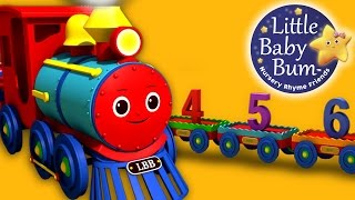 Numbers Song for Children - 1 to 20 Number Train | By LittleBabyBum | HD Version 3D Animation