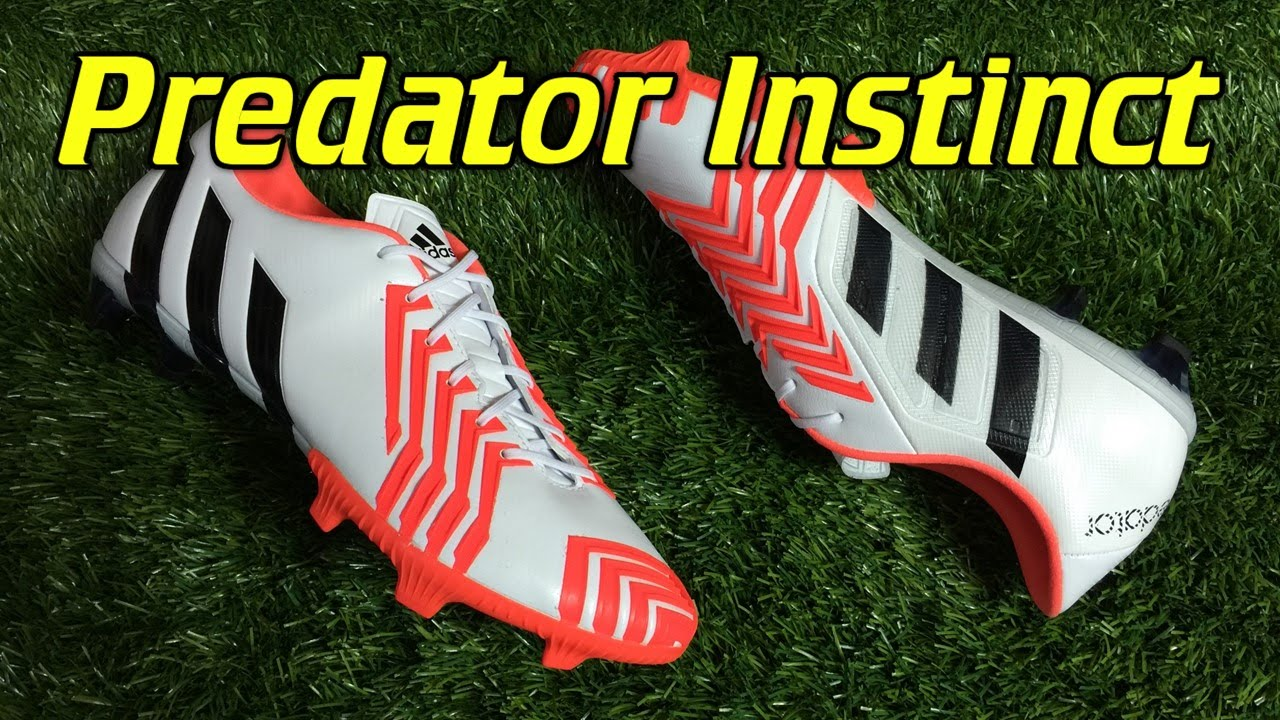 a13c8987f2c4 Adidas Predator Instinct White/Solar Red - Review + On Feet - YouTube