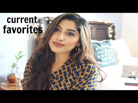 CURRENT BEAUTY/FASHION FAVORITES 2018