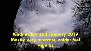 UK weekly Weather [Mon 31st Dec 2018 - Fri 4th Jan 2019] [Very, very dull start to 2019]