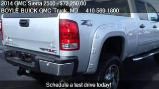 2014 GMC Sierra 2500 SLE Altitude Edition for sale in ABINGD