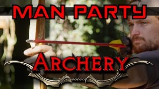 Archery - Shoot an Apple off my head - MAN Party
