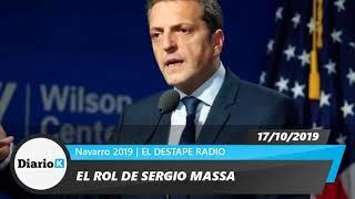 EL DESTAPE - Cuál será el rol de Sergio Massa dentro del frente de TODOS - 17 10 19