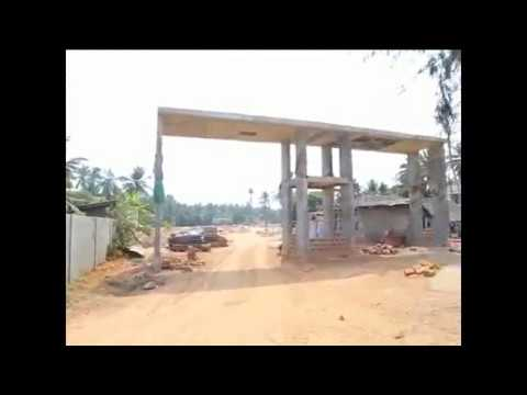 Emerald Bay residential layout surathkal mangalore | Construction Status April 2017