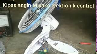 Cara service kipas angin Miyako elektronik control
