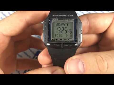 Часы casio db 36