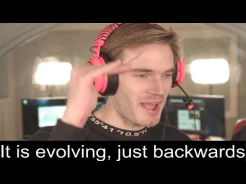 It's Evolving, Just Backwards.