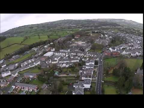 WEST WALES HD EYE IN THE SKY LAMPETER JANUARY 27TH 2015