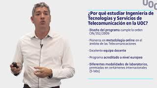 Grado de Ingeniería de Tecnologias y Servicios de Telecomunicación - Sesión Informativa | UOC