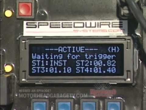 Speedwire race car wiring