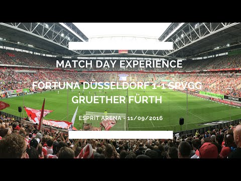 Groundhop at the ESPRIT Arena - Fortuna Düsseldorf vs. spVgg Greuther Fürth - WITH THE ULTRAS!!