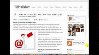 Web.de Account löschen - Wie funktioniert das?