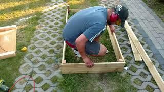 Jak tanio zrobić podwyższoną grządkę?  Część I / How to Make a Raised Bed? Part I