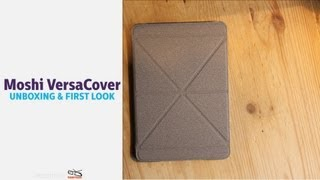 Gambar cover Moshi VersaCover for the iPad min: Unboxing & First Look