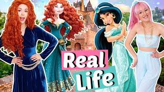 Disney Prinzessinnen in REALLIFE 🎀 Jasmine & Merida | ViktoriaSarina