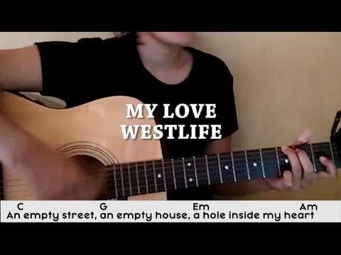 (KUNCI GITAR) My Love - Westlife