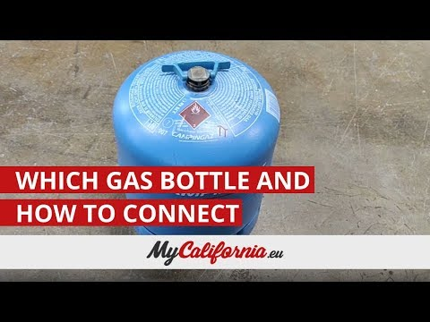 Which gas bottle do you need and how to connect it in the VW California