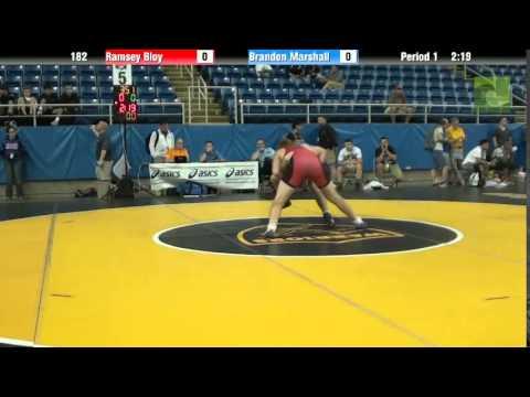 182 Ramsey Bloy vs. Brandon Marshall