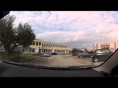 University of Patras, Greece - Campus Tour - onboard camera
