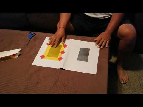 Hmong tradition paper boat & paper cuttings 1