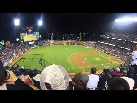 Crazy Crab returns to AT&T Park - Goodbye Candlestick night