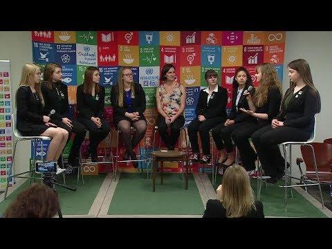 Robotics Team, SDG Media Zone - ECOSOC Youth Forum 2018