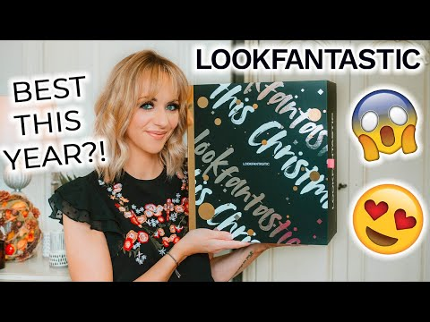 LOOK FANTASTIC ADVENT CALENDAR 2020 UNBOXING *IS THIS THE YEAR'S BEST CALENDAR?!* COME & SEE INSIDE