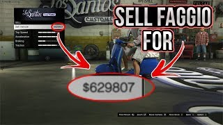 SELL FAGGIO FOR $629807 - *NEW EASY* GTA 5 ONLINE MONEY GLITCH 1.41 - AFTER PATCH (XBOX/PS4/PC)