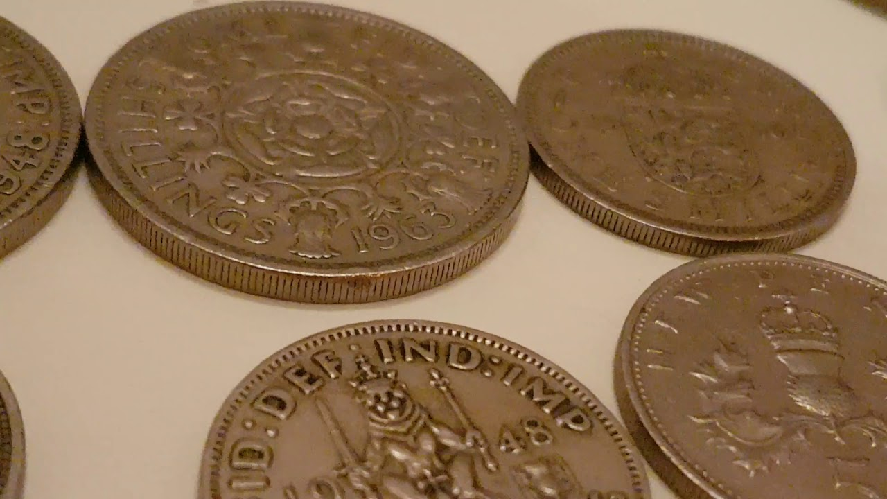 Preview of a new ASMR video about British Coins which were still legal  tender in the late 1980s
