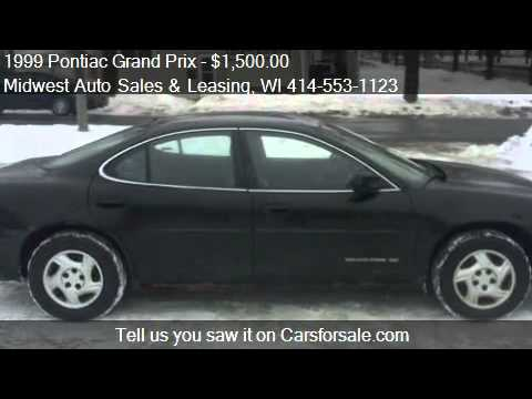 1999 Pontiac Grand Prix SE sedan for sale in Milwaukee, WI 5