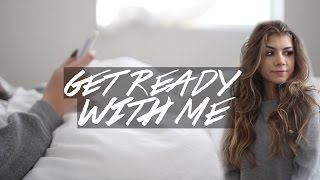 Get Ready W/ Me: Hair, Makeup + Outfit