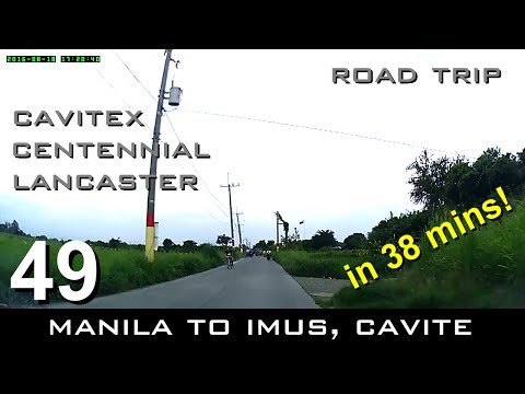 Road Trip #49 - Manila to Imus (Malagasang I) in just 38 mins