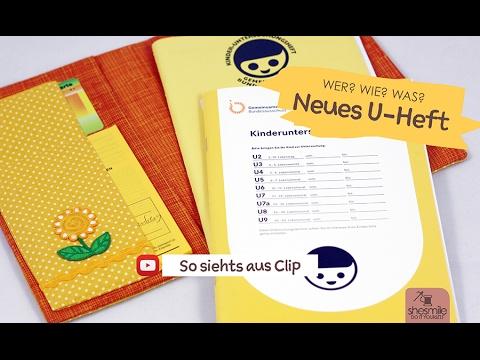 Das Neue U Heft Ein Sosiehtsaus Clip Zum Aussehen Und Der Größe Von