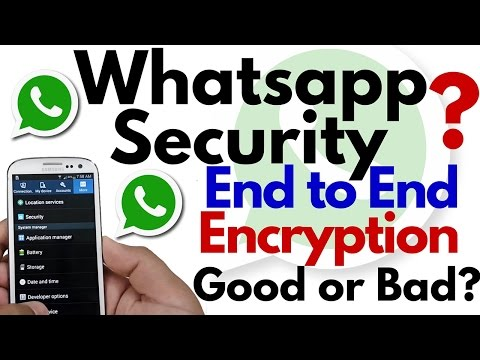 Whatsapp End to End Encryption | Good or Bad? Best in Security?
