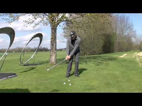 Learn how to flatten your attack angle for better chip shots
