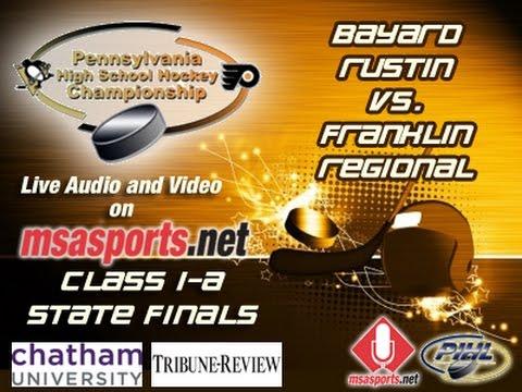 MSA Sports Spotlight - Hockey: PA State Finals:  Bayard Rustin vs. Franklin Regional  3-25-17
