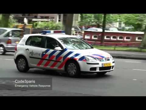 Politie Amsterdam Met Spoed X4 // Amsterdam Police Responding X4